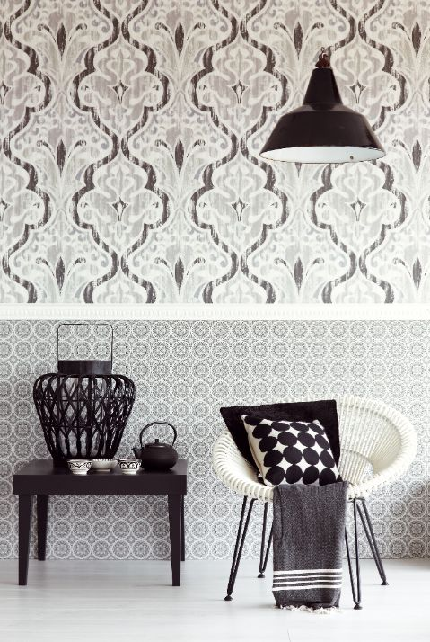 Retro Vintage wallpaper and style for your home decor