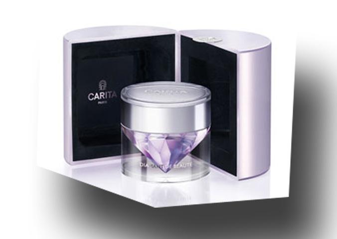 Beauty diamond.  Anti-ageing precious cream  Carita Paris Cosmetics  #luxurycosmetics #caritaparis #fluidecarita #caritadiamondcream