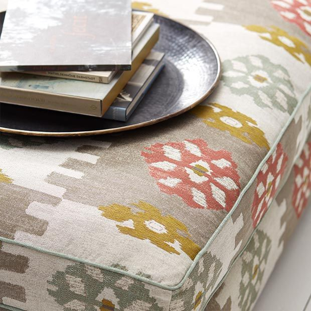 PERSIA Collection, Warwick Fabrics / shown here in colour 'Watermelon' / upholstery