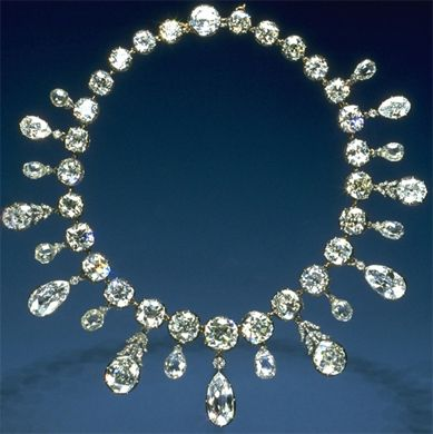 The Jewels of the Napoleon Diamond Necklace