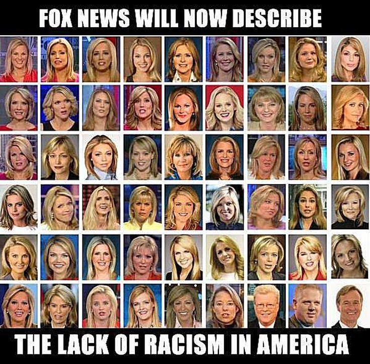 Funniest Memes Mocking Fox News: Fox News on Racism in America