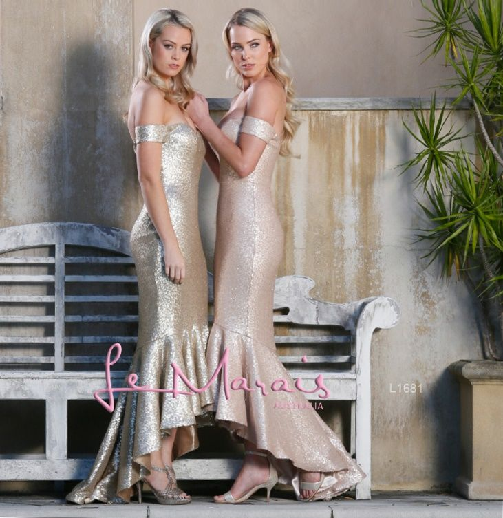 L1681 gold & nude