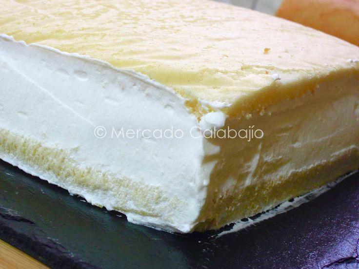 Receta De Tarta De Yema Tostada Y Nata Sin Lactosa Mercado Calabajío Food Desserts Cheesecake