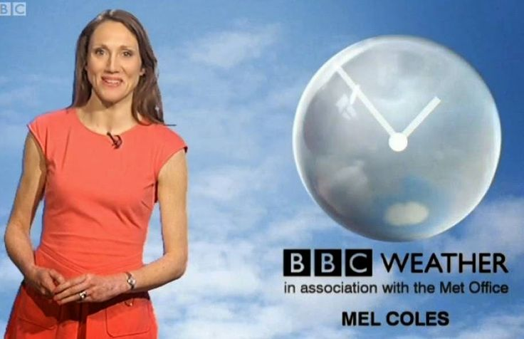 Mel Coles - BBC North West weather presenter