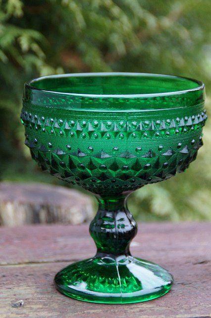 zielony puchar, kielich