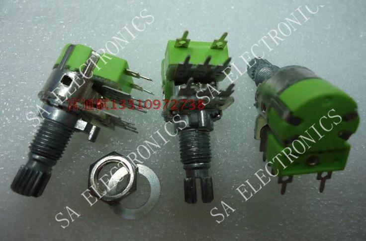 [БЕЛЛА] Тайвань 12 тип R123G двойной потенциометр с выключателем B50K15KQ объема потенциометра (длинные ноги)-10 ШТ./ЛОТ