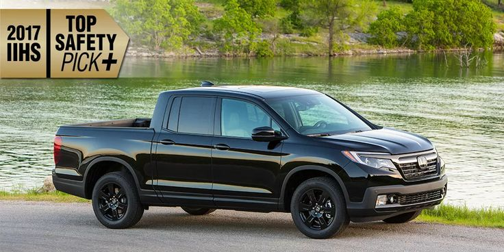 #2017 #Honda #Ridgeline Earns Highest #Safety Rated #Pickup #Truck in America!