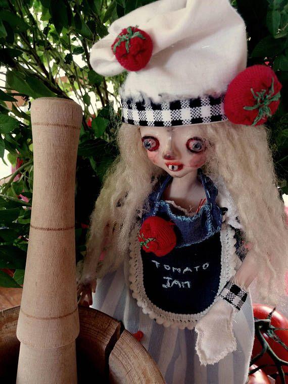 Mousell/ art doll/ art/doll/polymer clay/handmade