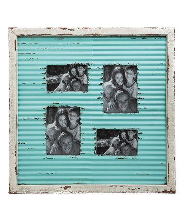 Look what I found on #zulily! Corrugate Metal Photo Frame #zulilyfinds
