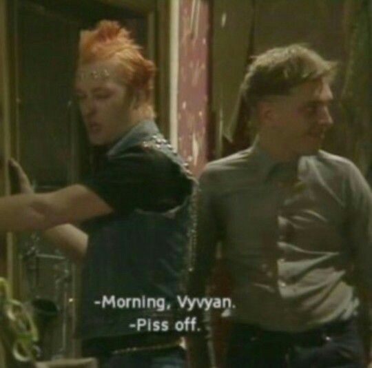 Rick (Rik Mayall) & Vyvyan (Ade Edmondson)