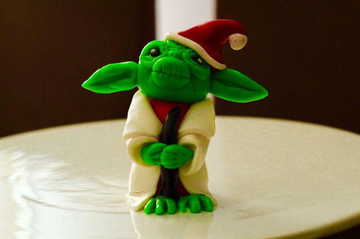 Master Yoda cake toppers