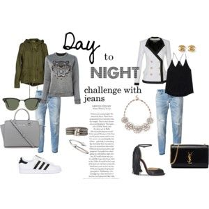 """""""Jeans challenge"""" by waniliovo on Polyvore"""