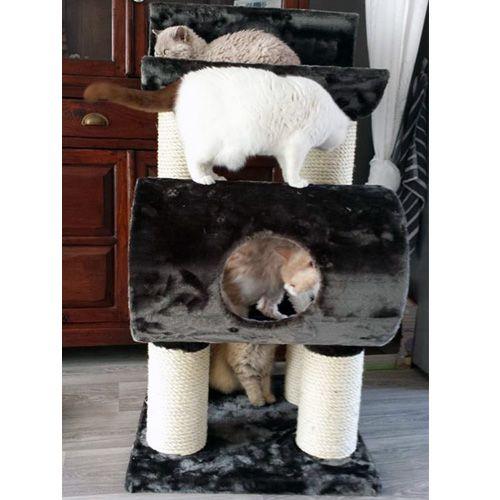 Krabpaal Maine Coon Tivoli Grijs - Geschikt voor zware en grote katten
