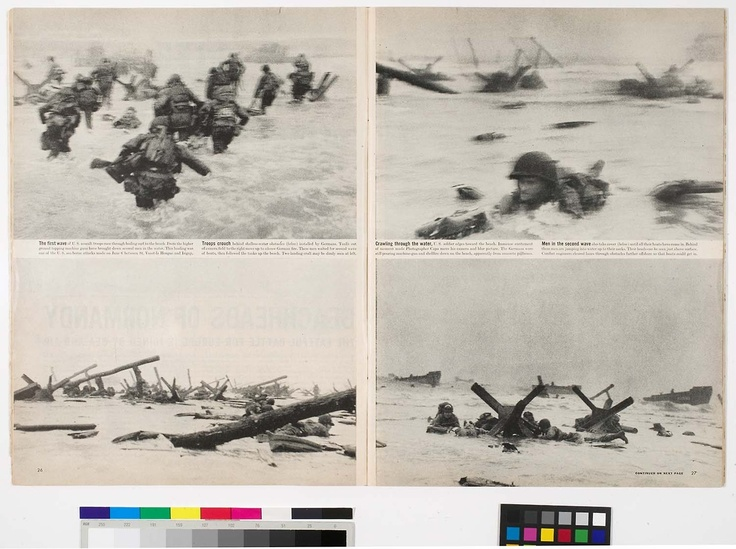 The Story Behind Robert Capa's Pictures of D Day.