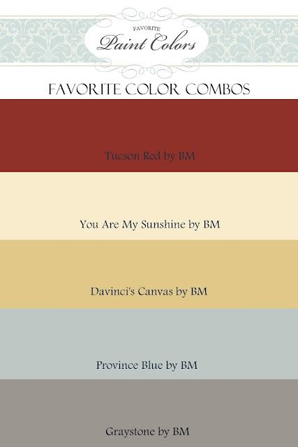 Great website full of paint color ideas, combinations, etc. misc-for-now