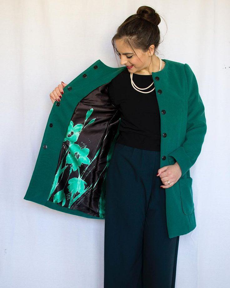Modern Coat Muster Sewing Model - Decke Stricken Muster ...