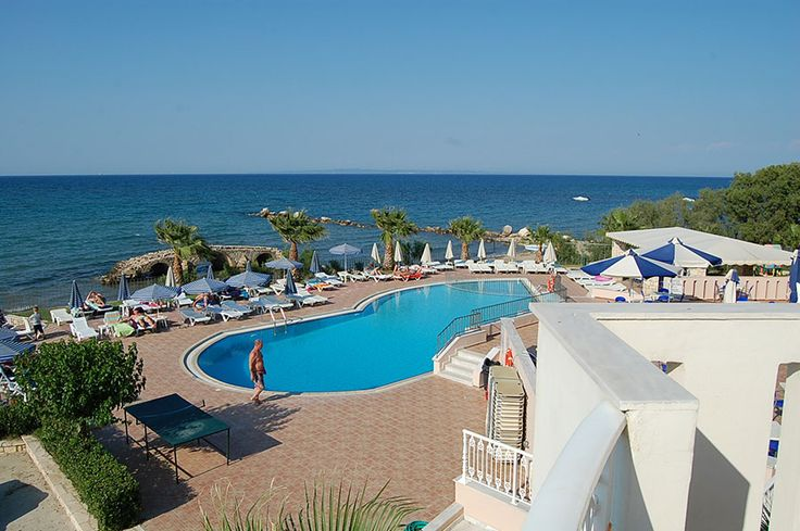 Zakinthos: swimming #pool, cafe-bar, 43 #hotel rooms, and  fine 47 autonomous #apartments