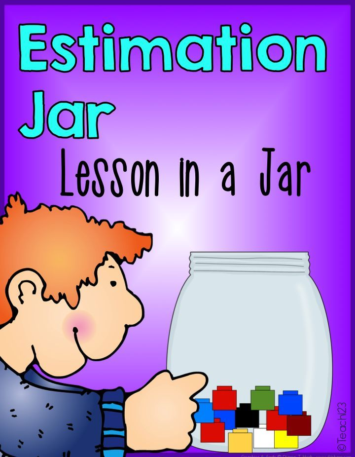 Estimation Jar Grades K-3  Estimation jar lessons are one of those activities that can be organized many different ways.  Plus you can teach a variety of skills with a jar.  Who knew a jar could be so useful in the classroom? FREE printables so you can set up your own estimation jar.