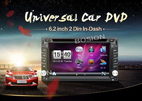 Bosion hot selling product 6.2-inch Double DIN Car Gps Navigation in Dash Car Dvd Player Car Stereo Touch Screen with Bluetooth USB Sd Mp3 Radio for Universal Car Free Backup Camera and map card - http://www.caraccessoriesonlinemarket.com/bosion-hot-selling-product-6-2-inch-double-din-car-gps-navigation-in-dash-car-dvd-player-car-stereo-touch-screen-with-bluetooth-usb-sd-mp3-radio-for-universal-car-free-backup-camera-and-map-card/  #62Inch, #Backup, #Bluetooth, #Bosion, #Ca
