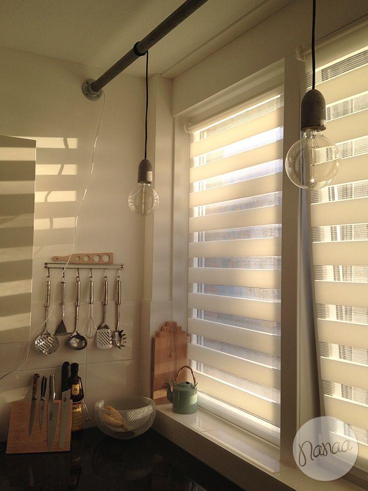 Ontwerpstudio Nanaa | Zelfgemaakte hanglamp