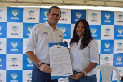 Nación, departamento y Distrito de Riohacha socializaron obras en 'Lomas del Trupio'