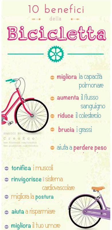 Usa la bici! #EcoLifestyle  SEGUICI SU: www.facebook.com/CreoEco www.pinterest.com/CreoEco