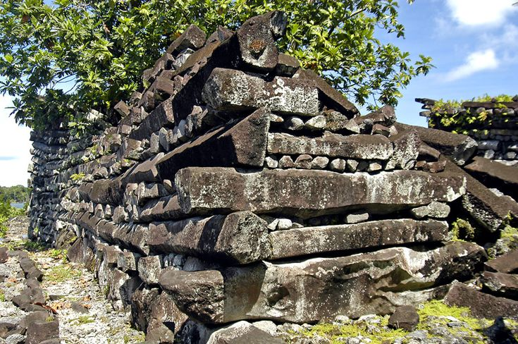 Nan Madol: Because Stone Lasts Longer than Wood.