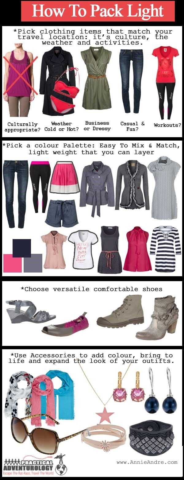 travel packing tips to help you pack light without sacrificing comfort and style