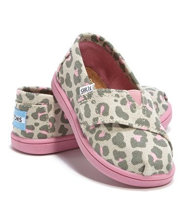 Look at this #zulilyfind! Pink Leopard Classics - Tiny #zulilyfinds
