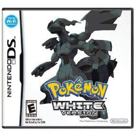 Pokemon - White Version, (pokemon, black and white, nintendo ds, nintendo, video games, ds, 5th gen, white, 3ds, rpg)