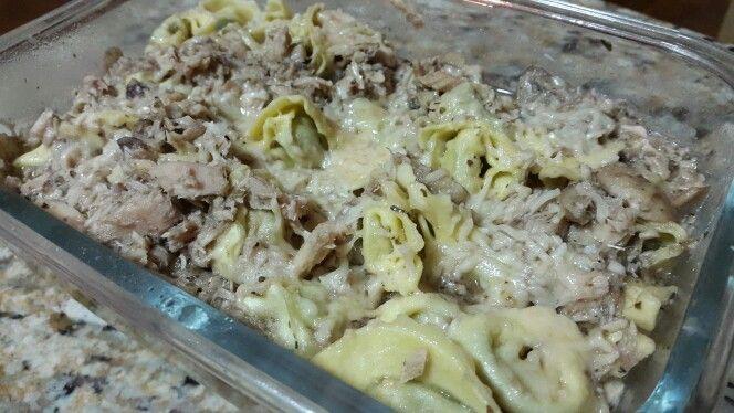 SPINACH TORTELLINI WITH TUNA, ANCHOVIES AND MUSHROOMS - TORTELLINIS DE ESPINACAS CON ATÚN, ANCHOAS Y CHAMPIÑONES http://rookiekitchen.weebly.com/pasta/spinach-tortellini-with-tuna-anchovies-and-mushrooms-tortellini-de-espinaca-con-atun-anchoas-y-champinones-akathe-italian-sea-aliasmar-de-italia VISIT THE LINK! VISITA EL ENLACE!