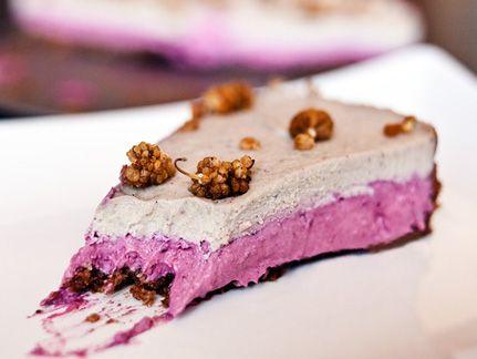 Rohe Cashew-Beeren Torte