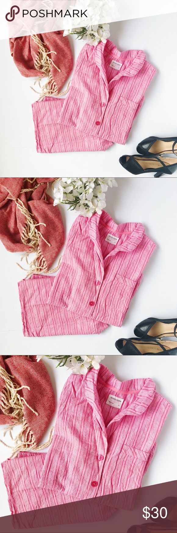Nordstrom Flannel 2/ Piece Pajama Set The perfect PJ for winter! Please note this is the price for two pieces. .90% cotton. 2% other fibers. Stock 151–161 Nordstrom Intimates & Sleepwear Pajamas