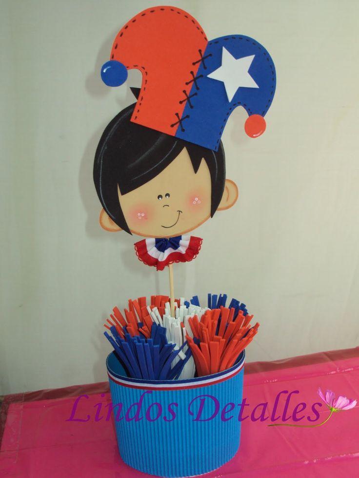 símbolos de fiestas patrias chilenaspara colorear - Buscar con Google