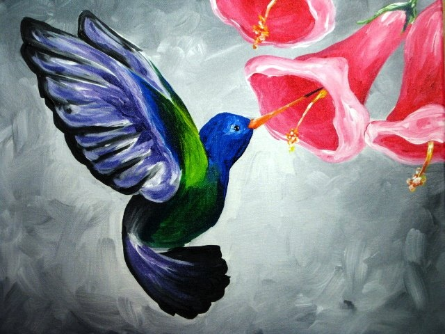 70 best ideas about painting birds on pinterest acrylics for Easy acrylic animal paintings