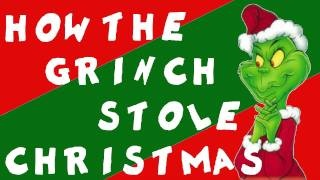 Dr. Seuss: How the Grinch Stole Christmas, via YouTube.  A cute retelling with drawing.  Not the cartoon