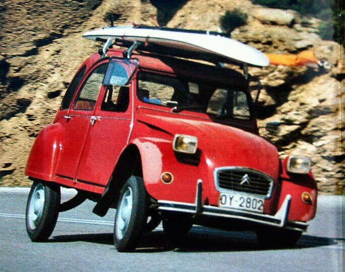 Caution on bends! #Citroën #Surf