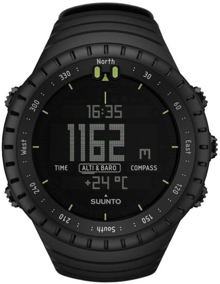 Brand New Authentic Suunto Core All Black Military Outdoor Sports