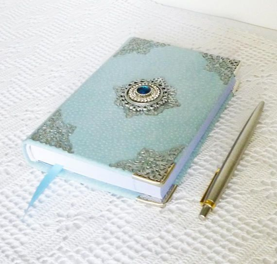 Leather Journal Diary Gift for Women Girl Notebook #tealjournal #leatherjournal #blue #notebook #writingjournal #diary #turquoise journal #womensjournal