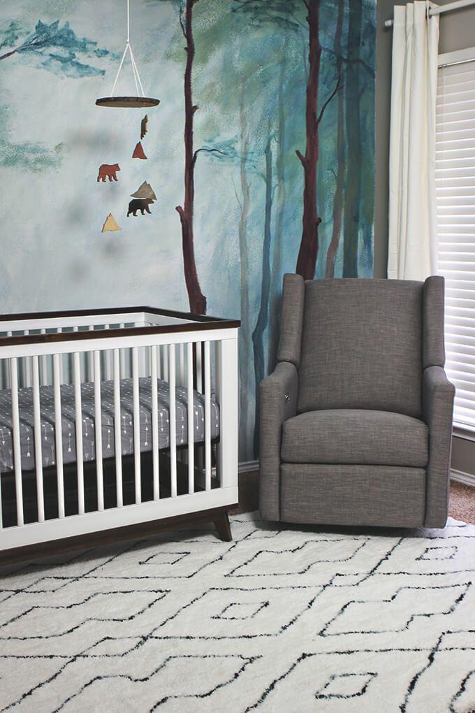 Woodland Themed Nursery Room Reveal Woodland Nursery Theme