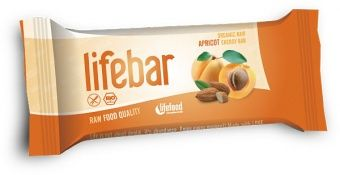 Lifebar RAW ENERGY BARS Apricot