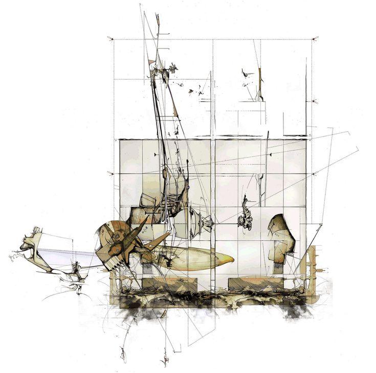 of paper and things: drawing | dan slavinsky