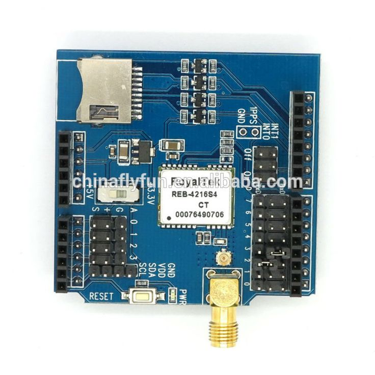 GPS Shield Expansion Board Module RoyalTek REB-4216S4 for Arduino Mega