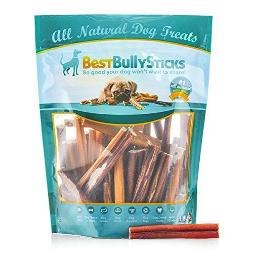100% Natural 4-inch Odor-Free Bully Sticks by Best Bully Sticks (100 Pack) ** Read more reviews of the product by visiting the link on the image.