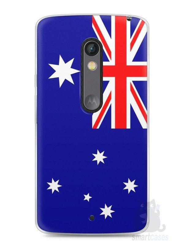 Capa Capinha Moto X Play Bandeira da Austrália - SmartCases - Acessórios para celulares e tablets :)