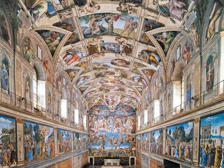 Сикстинская капелла в Ватикане