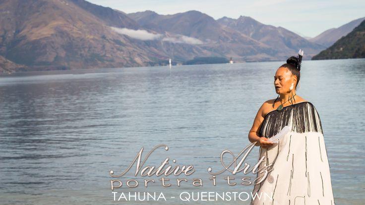 Native Artz Portraits, Queenstown background, 2013, ataahua wahine, Maori Portrait, get your own at https://www.facebook.com/NativeArtzPortraits