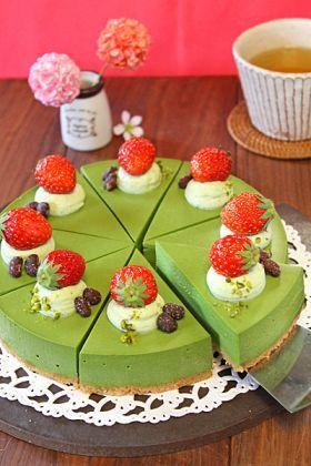 corecle コレクル > PAO > なめらか抹茶のティラミス風レアチーズケーキ