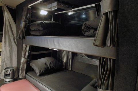 Tour bus bunk beds. #ESX | Playing for You | Pinterest ...