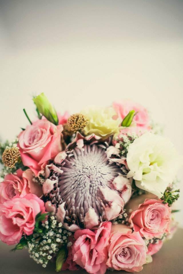 Statement Clutch - Protea, fynbos & rose bag by VIDA VIDA